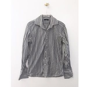 ted baker / archive dress striped button up shirt